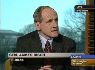 JimRisch_WashingtonJournal_2-13-09_screengrab